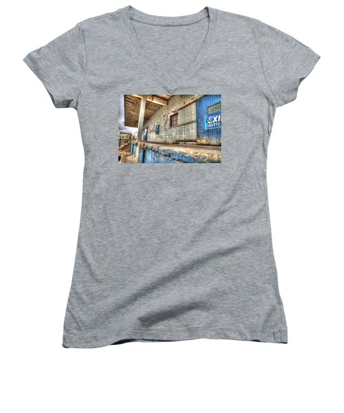 Loading Dock Women's V-Neck T-Shirt