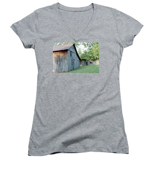 Monroe Barns Women's V-Neck T-Shirt