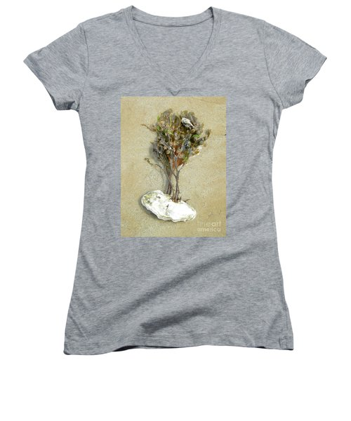 Mother Nature... The Only True Artist Women's V-Neck T-Shirt