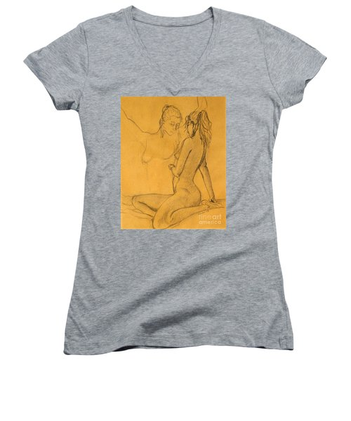 My Reflection Women's V-Neck T-Shirt