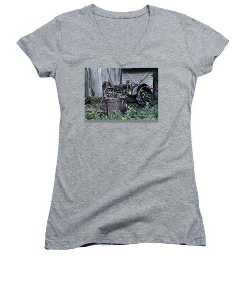 Older Days Women's V-Neck T-Shirt
