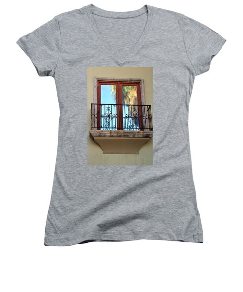 Outer Reflection Women's V-Neck T-Shirt