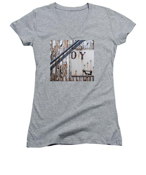 ...oy Women's V-Neck T-Shirt