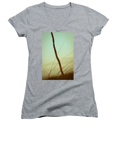 Palm Women's V-Neck T-Shirt