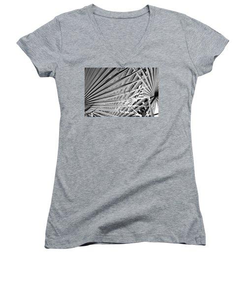 Palm Veils Women's V-Neck T-Shirt
