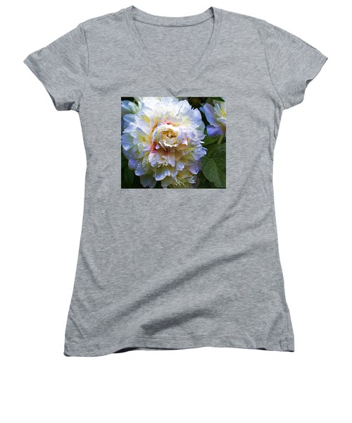 Peony Beauty Women's V-Neck T-Shirt
