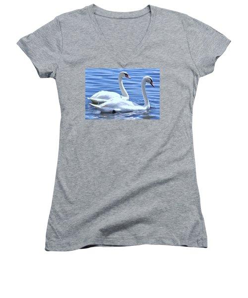 Soulmates Women's V-Neck T-Shirt