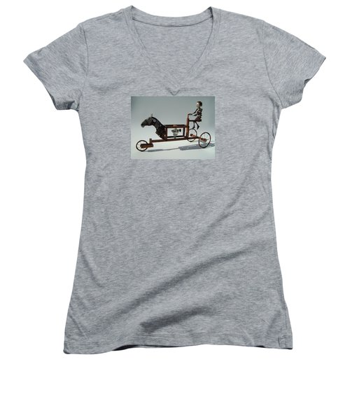 Pictograph Women's V-Neck T-Shirt