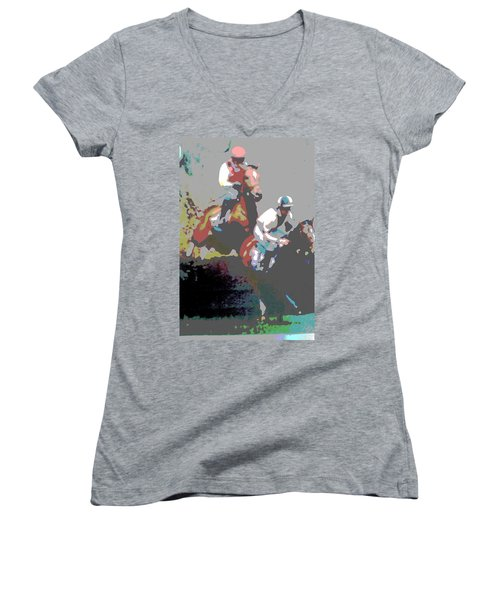 Point To Point Women's V-Neck (Athletic Fit)
