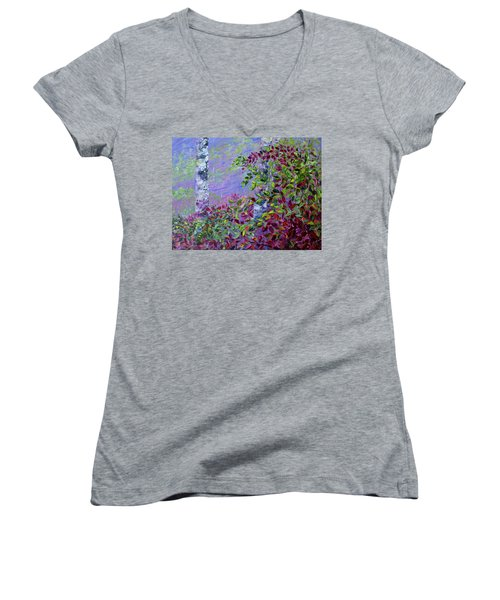 Purple Haze Women's V-Neck