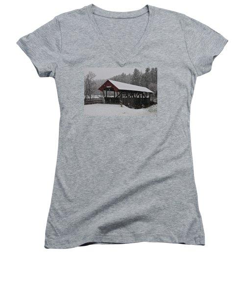 Randall Bridge Women's V-Neck T-Shirt
