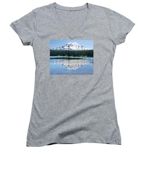 Reflection Of Adams Women's V-Neck T-Shirt