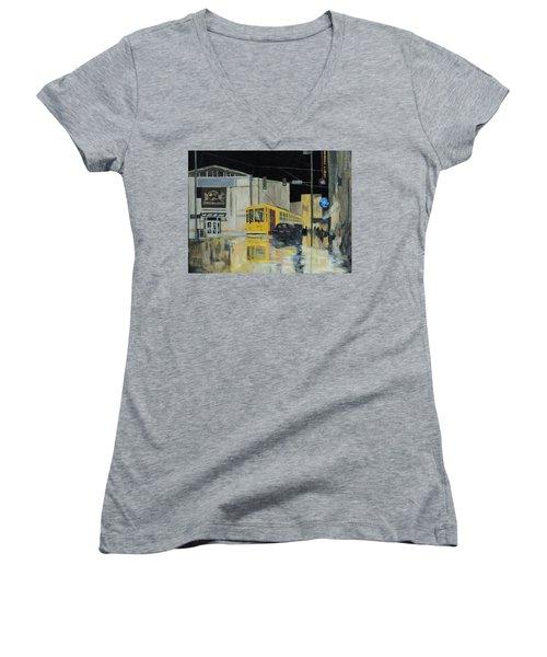 Rivermarket Streetcar 411 Women's V-Neck T-Shirt