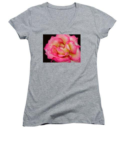 Rose 2 Women's V-Neck T-Shirt
