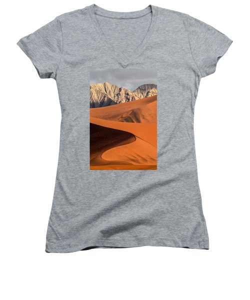 Sand And Stone Women's V-Neck (Athletic Fit)