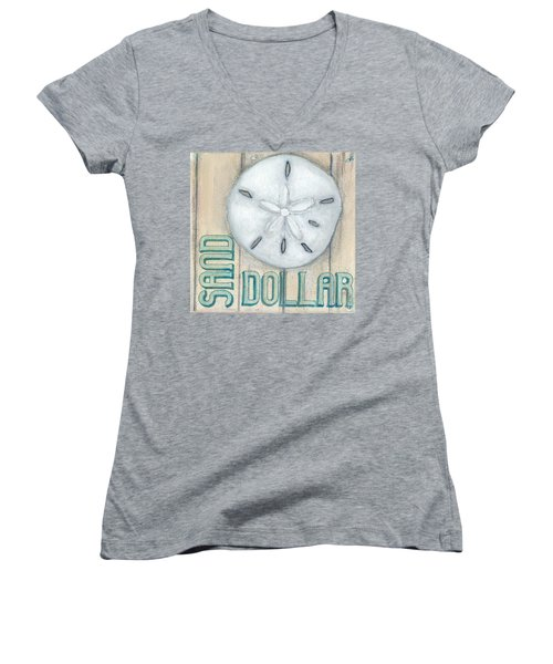 Sand Dollar Women's V-Neck (Athletic Fit)