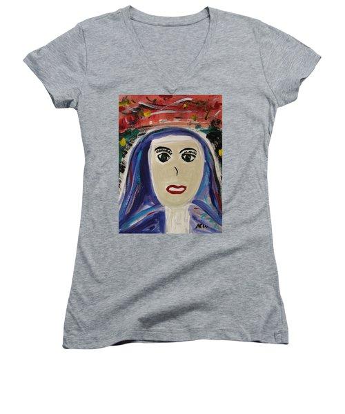 School Sister Women's V-Neck T-Shirt