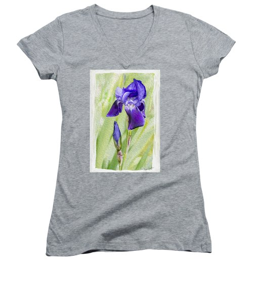 Seeing Purple Women's V-Neck (Athletic Fit)
