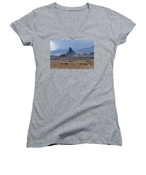 Sentinels Women's V-Neck T-Shirt