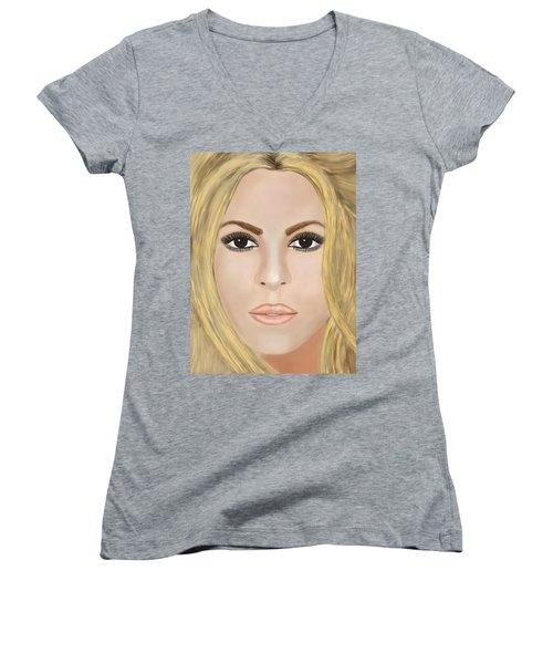 Shakira Women's V-Neck T-Shirt