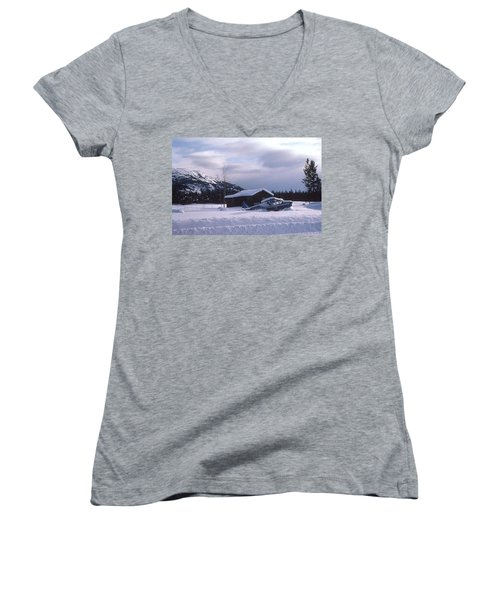 Anyone Got A Shovel? Women's V-Neck T-Shirt