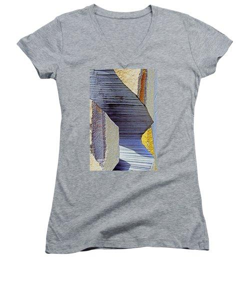 Stone Geometrics Women's V-Neck T-Shirt