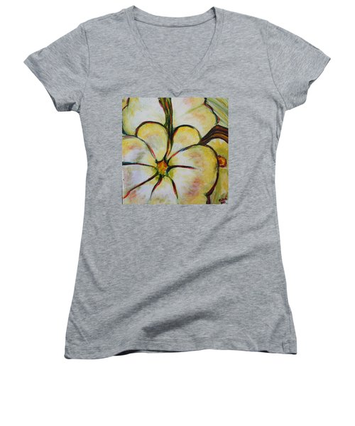 Summer Squash Women's V-Neck (Athletic Fit)