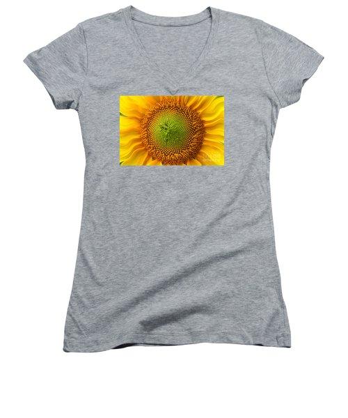 Sunflower Fantasy Women's V-Neck T-Shirt