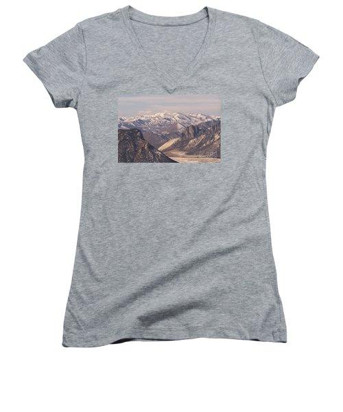 Sunlight Splendor Women's V-Neck T-Shirt