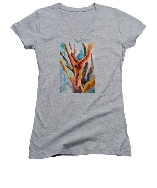 Symphony Of Branches Women's V-Neck T-Shirt