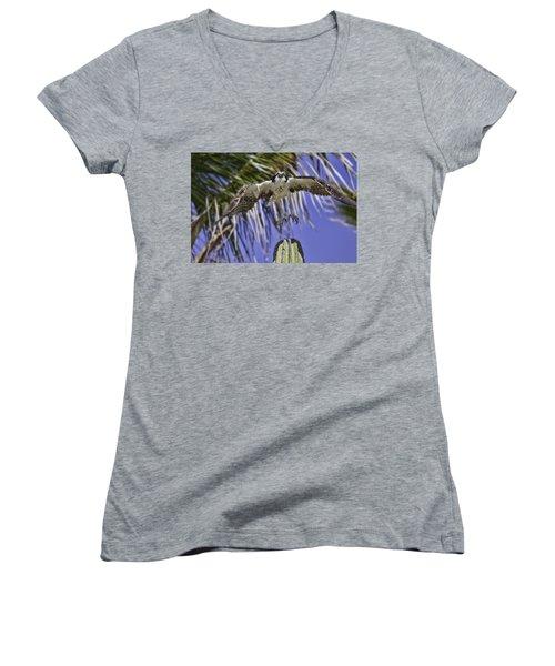 Take Off Women's V-Neck T-Shirt