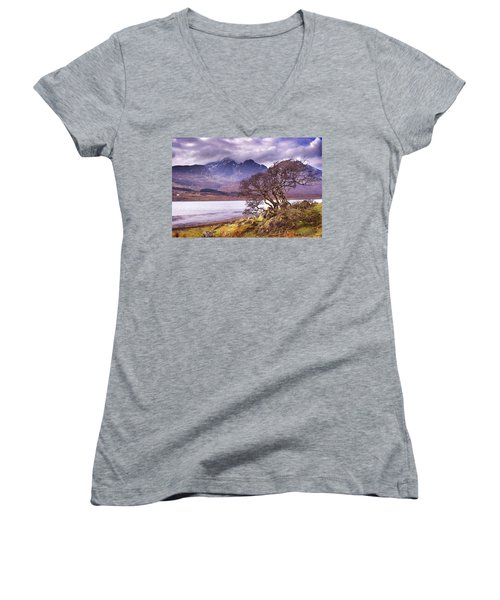 The Cuillins Skye Women's V-Neck