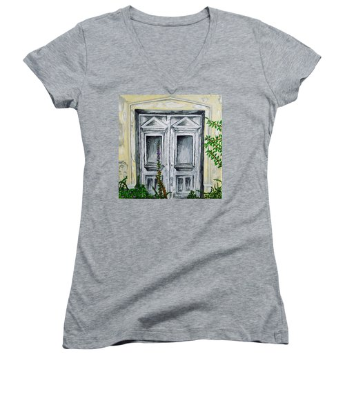 The Forgotten Door Women's V-Neck T-Shirt