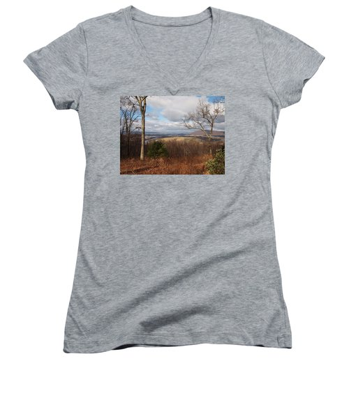 The Hills Have Eyes Women's V-Neck (Athletic Fit)
