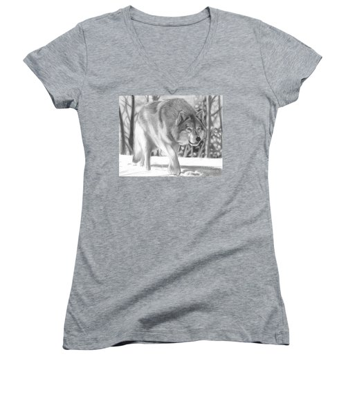 The Hunter Women's V-Neck (Athletic Fit)