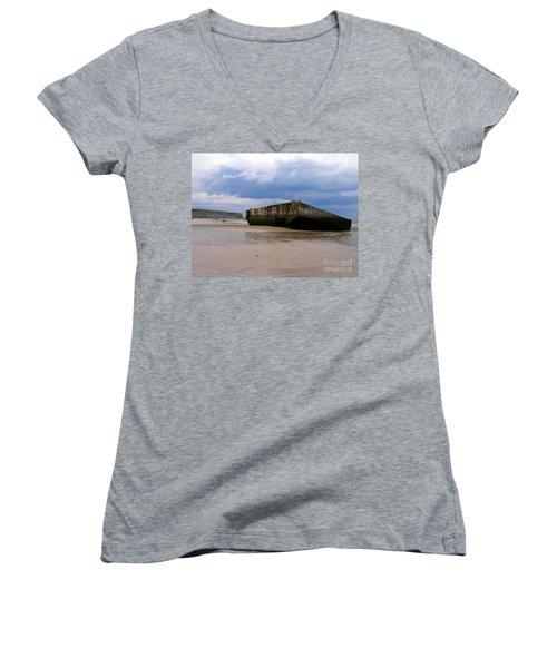 The Last Grave Women's V-Neck T-Shirt