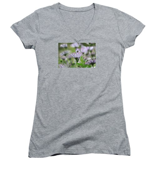 The Only One Women's V-Neck T-Shirt (Junior Cut) by Amy Gallagher