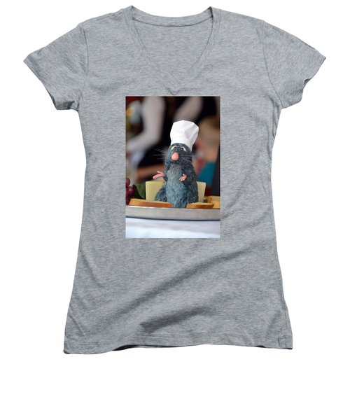 The Only Rat I Like Women's V-Neck T-Shirt