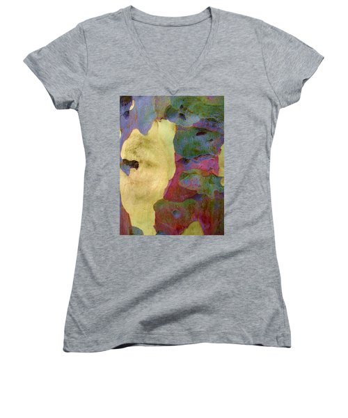 The True Colors Of A Tree Women's V-Neck (Athletic Fit)