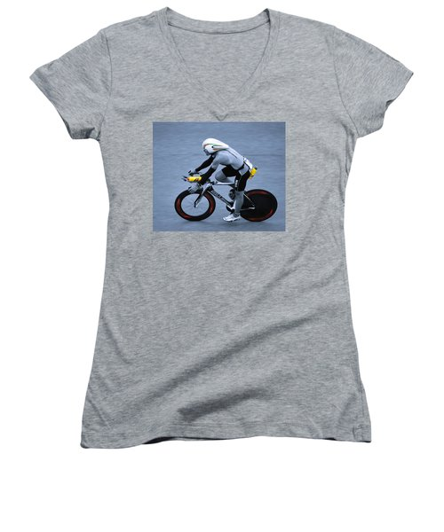 Triathlon Man Women's V-Neck