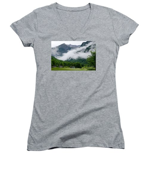 Village In The Alps Women's V-Neck