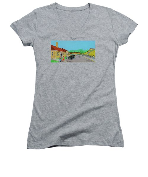Wayne Hills 1948 Women's V-Neck
