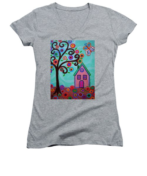 Whimsyland Women's V-Neck