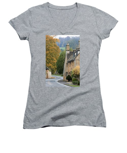 Winding Road Women's V-Neck (Athletic Fit)