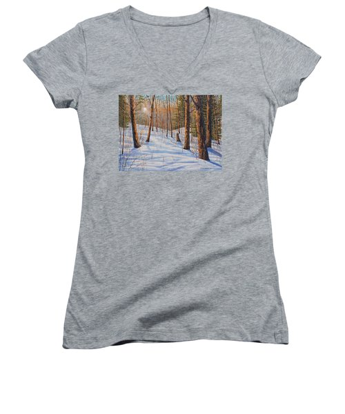 Winter Light Women's V-Neck (Athletic Fit)