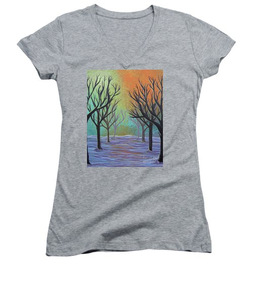 Winter Solitude 11 Women's V-Neck