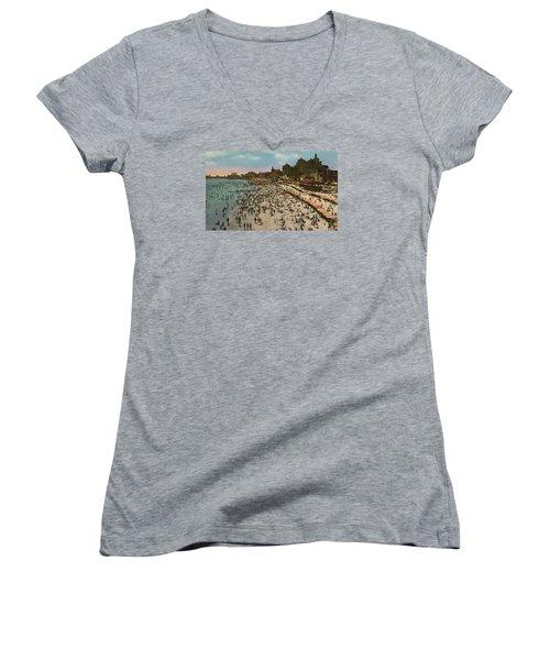 Atlantic City Spectacle Women's V-Neck T-Shirt