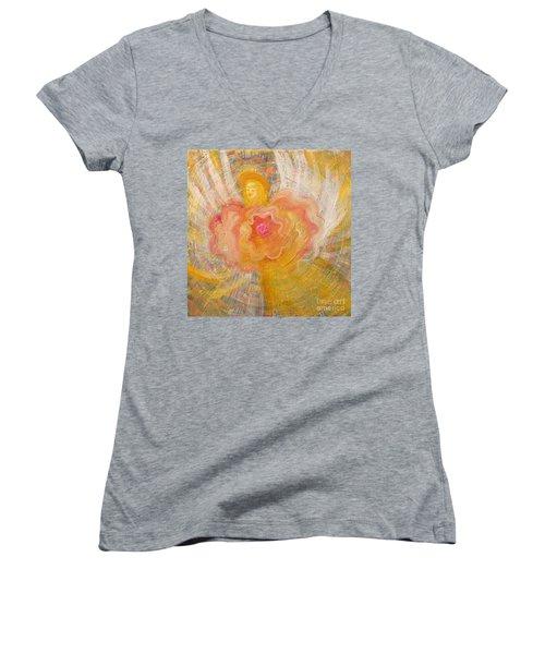 Flower Angel Women's V-Neck