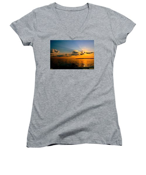 Perfect Ending To A Perfect Day Women's V-Neck