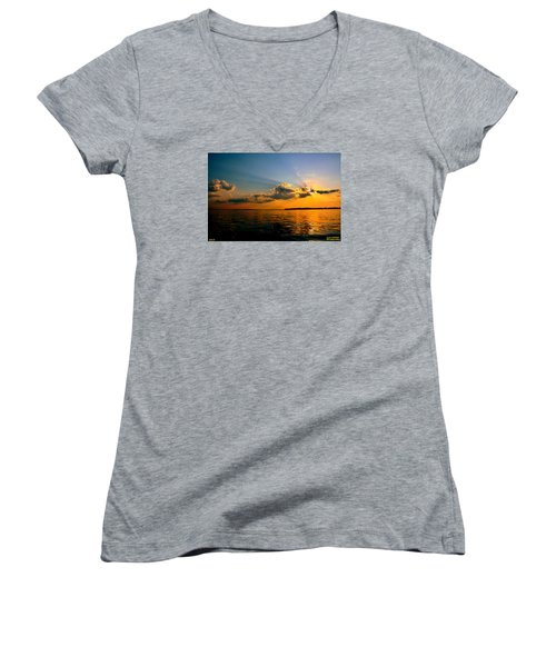 Perfect Ending To A Perfect Day Women's V-Neck T-Shirt